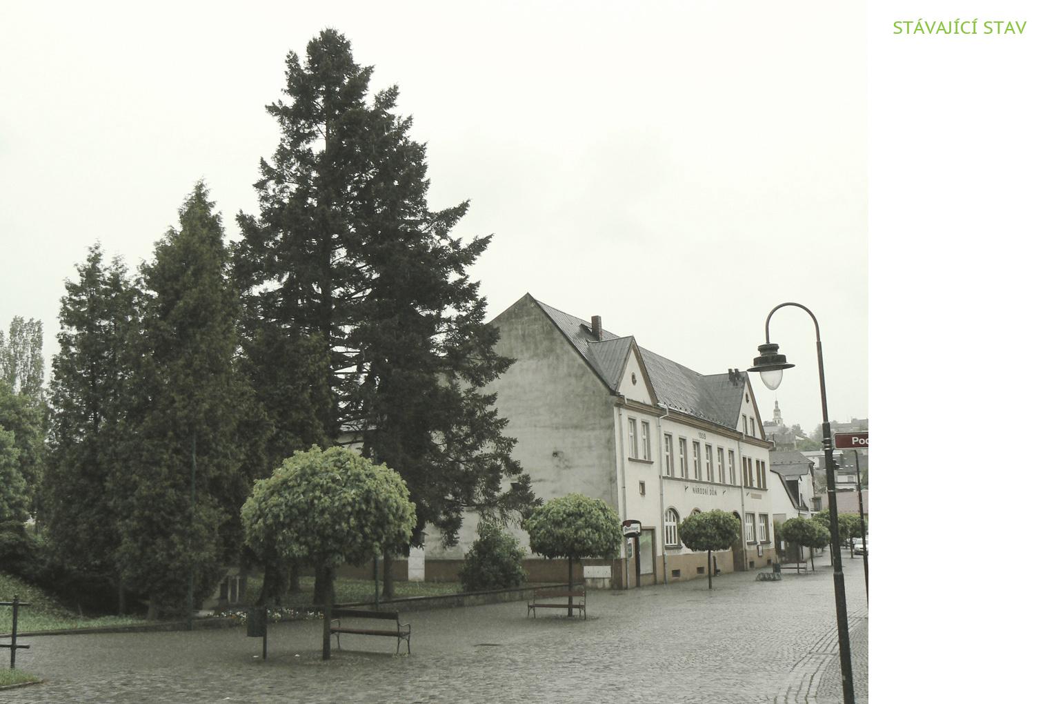 Rekonstrukce a dostavba Národního domu v Hradci nad Moravicí