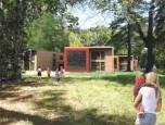 Novostavba mateřské školky v parku nad Klíčovem
