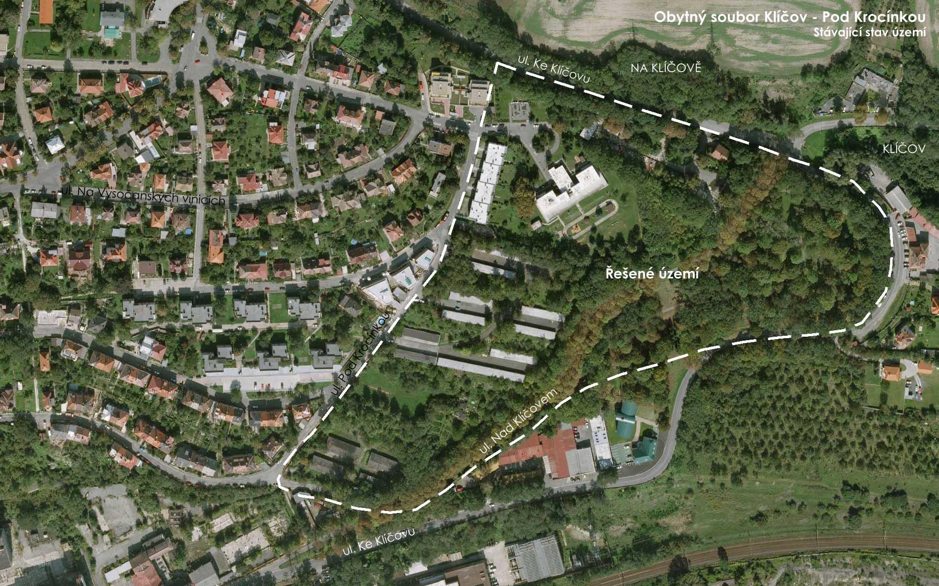 Urbanistická studie klíčovského svahu
