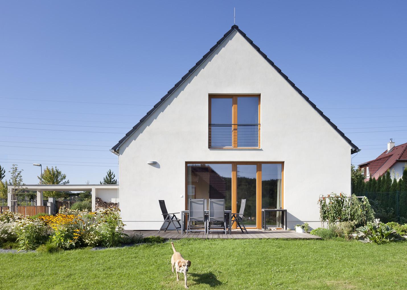 Pasivní rodinný dům ve Vraném nad Vltavou