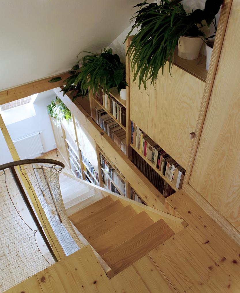 Stavební úpravy a interiér části rodinného domu