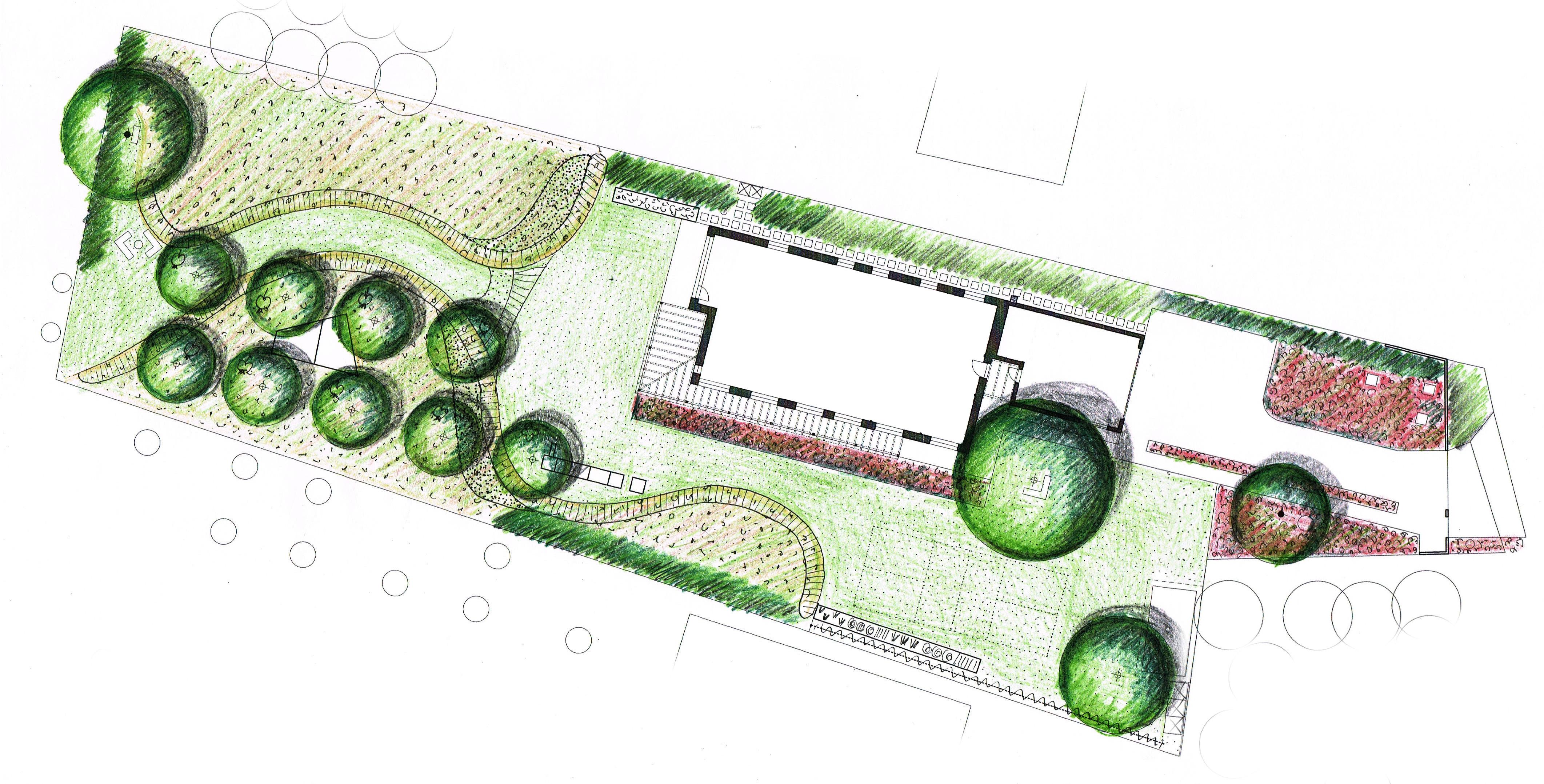 Zahrada na Hané