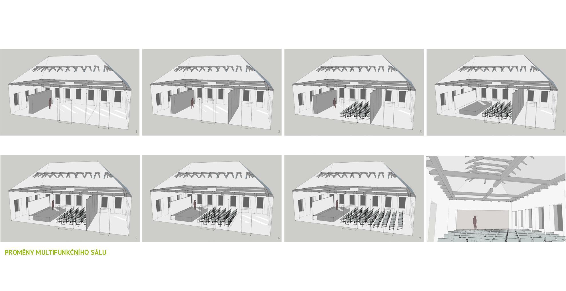Konverze bývalé základní školy na Dům pro spolky