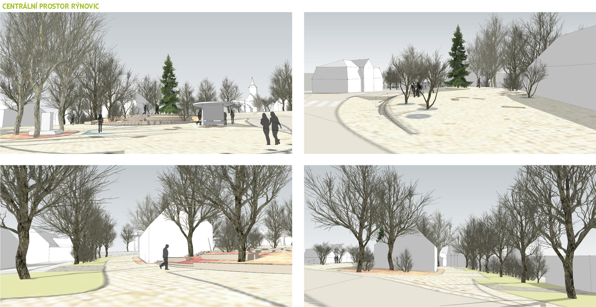 Proměna veřejného prostoru v Jablonci Rýnovicích
